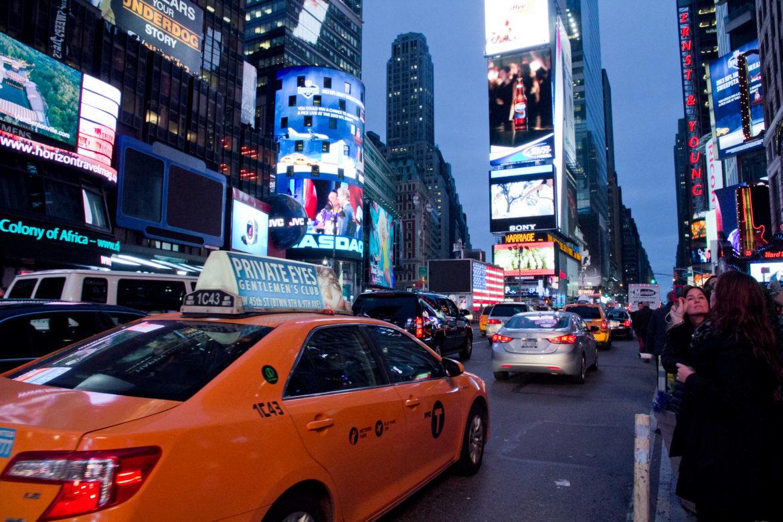 times square, new york, ny, city, night, urlaub, reise, reiseblog, reisen, taxi, tips, things to see