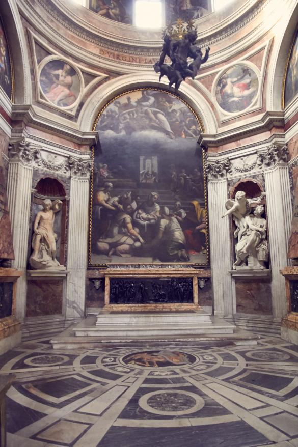 Santa Maria del Popolo, Chigi Kapelle, Illuminati, Rom, italien, Italia, Reiseblog, travel, Travelblog, Reiseblog, Reiseblogger, Kirche