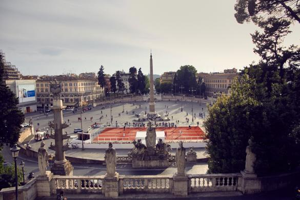 Piazza del Popolo, Platz des Volkes, Rom, Urlaub, Reiseblog, Obelisk, Spaziergang, Stadtspaziergang