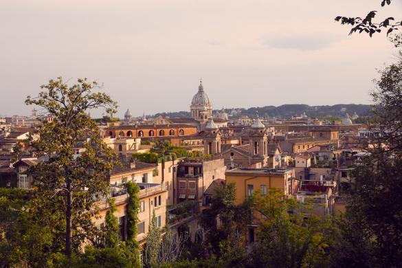 City view, Ausblick, Stadt, Rom, Städtetrip, Italien, Reiseblog, Mai, heiliges Jahr