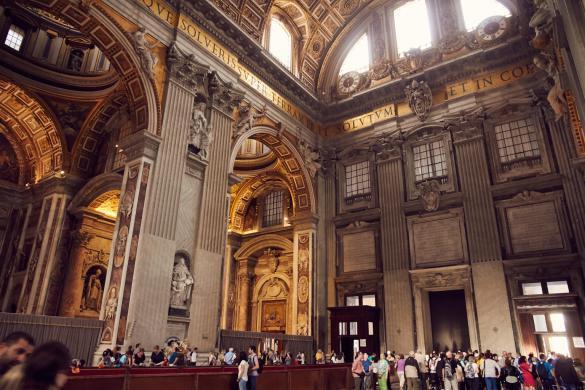 Petersdom, Kathedrale, Vatikan, antik, heilig, heiliges Jahr, touristen