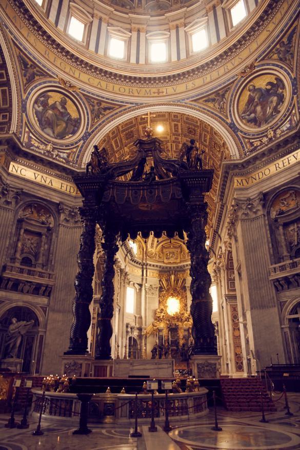 Petersdom, Kathedrale, Vatikan, antik, heilig, heiliges Jahr, Altar