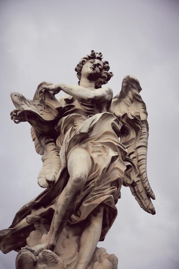 Engelsbrücke, Statue, Architektur, Rom, Roma, ewige Stadt, Blog, Reiseblog, reisen, Miles and Shores, Städtetrip