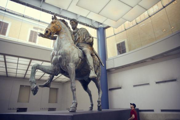 Kapitolinisches Museum, Museum, antik, Geschichte, Statuen, Rom, Italien, Städtereise