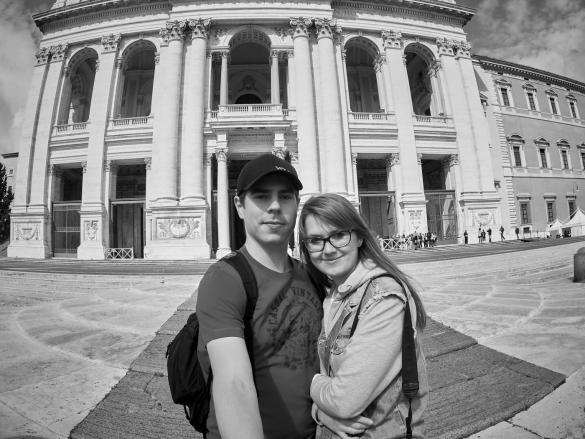 Lateran, Basilica, Selfie, Christina, Ronnie, Chrisi, Miles and Shores, Reise, Reiseblogger, Romreise, Blog, Blogger