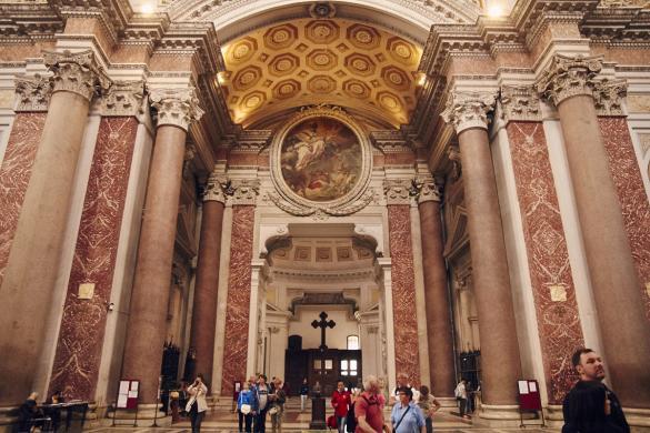Santa Maria Degli e Angeli, Rom, Kirche, Therme, Italien, Italienreise, Rundreise, Städtetrip, Reise, Miles and Shores