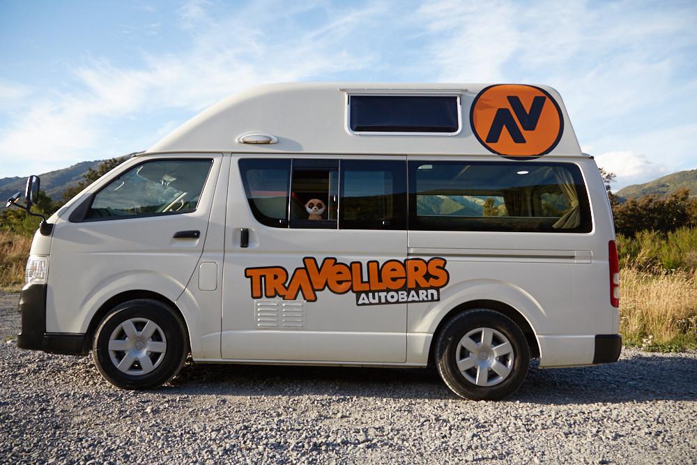 travellers autobarn, neuseeland, new zealand, camper, campingbus, campervan