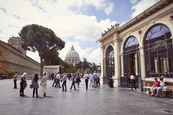 Vatikanisches Museum, Vorverkauf, Museum, Touristenattraktion, beliebt, überfüllt, Reiseblog, Miles and Shores