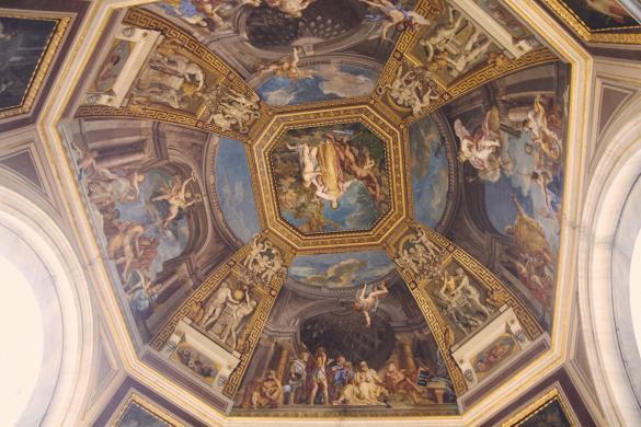 Vatikanisches Museum, Fresken, Deckenmalerein, Rom, Vatikan, Städtereise