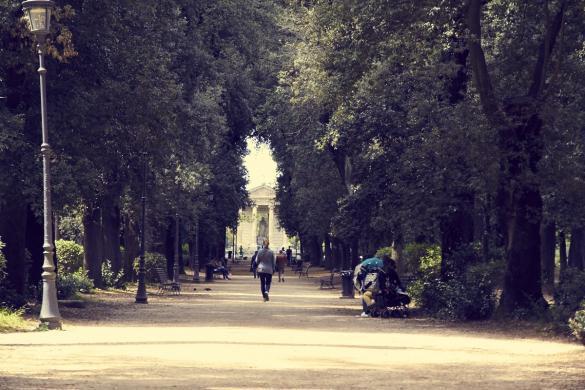 Villa Borghese, Rom, Italien, Park, spazieren, geniessen, Städtereise, Miles and Shores