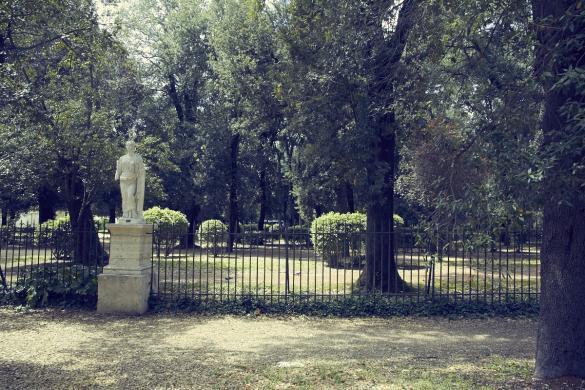 Villa Borghese, Rom, Italien, Park, Spaziergang, Städtetrip, Statuen, antik, Flair, Roma