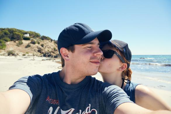 Chrisi und Ronnie, Miles and Shores, Reiseblog, Blogger, Travelblog, Pärchen, Tipps und Tricks, Strand, Roadtrip, Australien, einsamer Strand