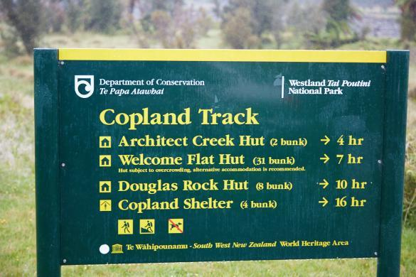 Copland Track, Neuseeland, New Zealand, South Island, Südinsel, Wanderweg, 17 km, Welcome Flat Hut