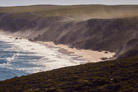 Kangaroo Island, Flinders Chase, Nationalpark, National Park, Landscape, Landschaft, beautiful, wunderschoen, Dunst
