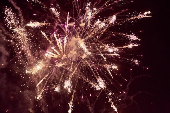 Feuerwerk, Melbourne, Australien, firework, Moomba Festival, Jahrmarkt, gross
