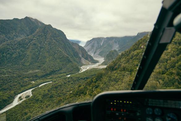 Fox Glacier, Gletscher, Urlaub, Neuseeland, New Zealand, Mountain, Berg, Gletschereis, Hubschrauberflug, Fox Tours, Miles and Shores, Urlaubsblog