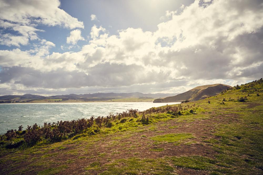 Katiki Point, Moeraki, Landschaft, Landscape, New Zealand, Neuseeland, Südinsel, wunderschoen, windig