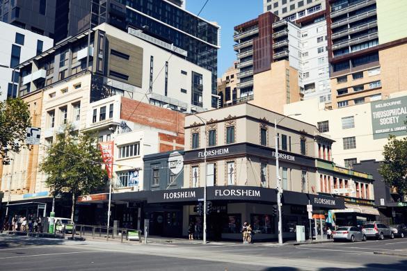 Melbourne, Cityscape, buildings, houses, Gebäude, Gebaeude, Hochhaus, Strasse, Stadtviertel, Innenstadt, Citytrip, Städtetrip, Australien, Roadtrip