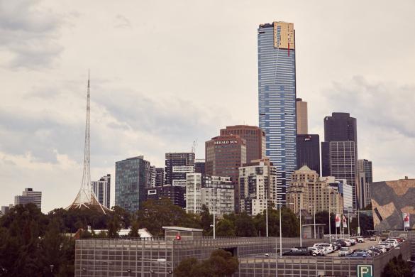 Melbourne, Australien, Skyline, Australia, Citytrip, spazieren, Stadt erkunden, Reiseblog