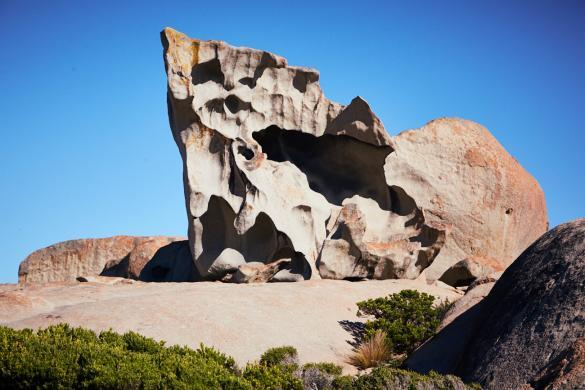 Remarkable Rocks, Flinders Chase, Nationalpark, National Park, gewaltig, gross, riesig, Attraktion, Aussichtspunkt, klettern, Miles and Shores, Reiseblog, Must See