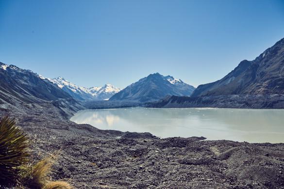 Tasman Lake, Tasman Track, Tasman Glacier View, Gletschersee, See, Bergsee, Mount Cook National Park, Nationalpark, Neuseeland, New Zealand