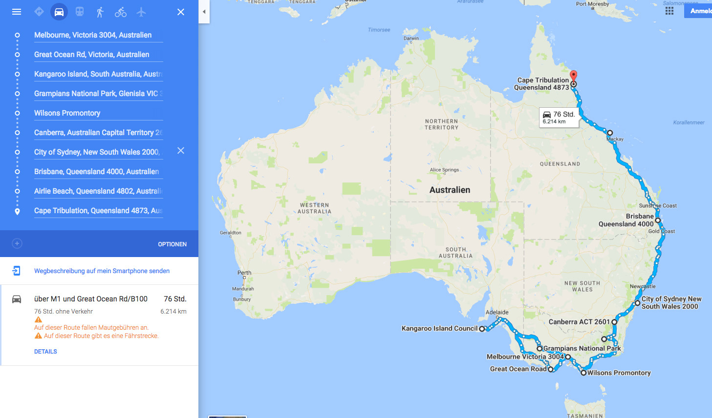 Australien, Miles and Shores, Route, Roadtrip, Reiseroute, Routenplanung, Ostküste, Ostkueste, Melbourne bis Cairns, Sydney, Brisbane, Kangaroo Island, Queensland, Victoria, New South Wales, South Australia