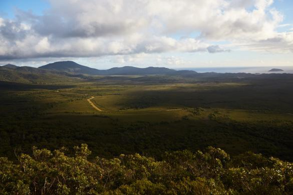 Vereker Outlook, Lookout, View, Aussicht, Wilsons Promontory, Nationalpark