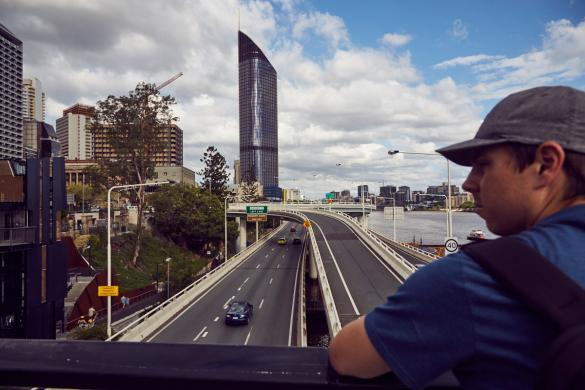 Brisbane, Highway, Ronnie, Cityscape, city, Stadt, cityview, Städtereise, Städtetrip, Roadtrip, Australien, Australia