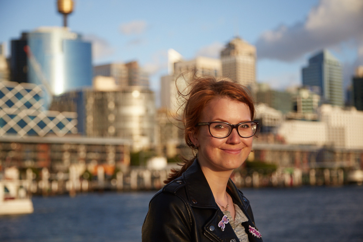 Chrisi, Miles and Shores, Portrait, Darling Harbour