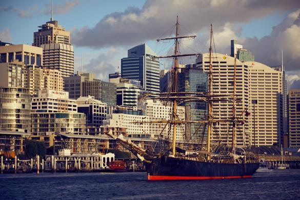 Darling Harbour, Reiseblog, bloggen, Sydney, Hochhäuser