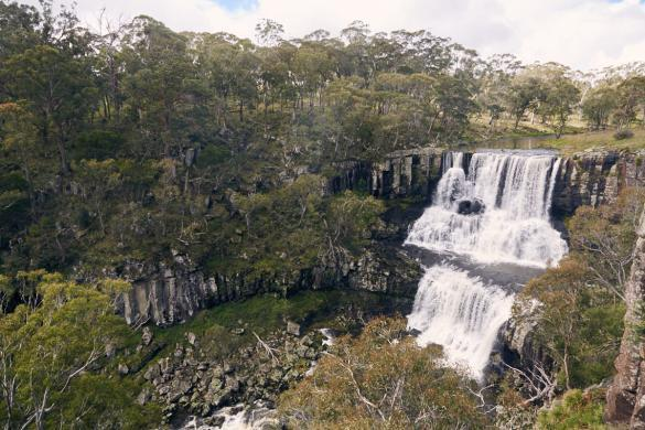 Ebor Falls, Wasserfall, waterfall, Australien, Australia, lookout, Miles and Shores, roadtrip