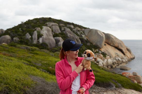 Urlaub, Reise, Miles and Shores, Ed, das Erdmännchen, Tongue Point, Wanderung
