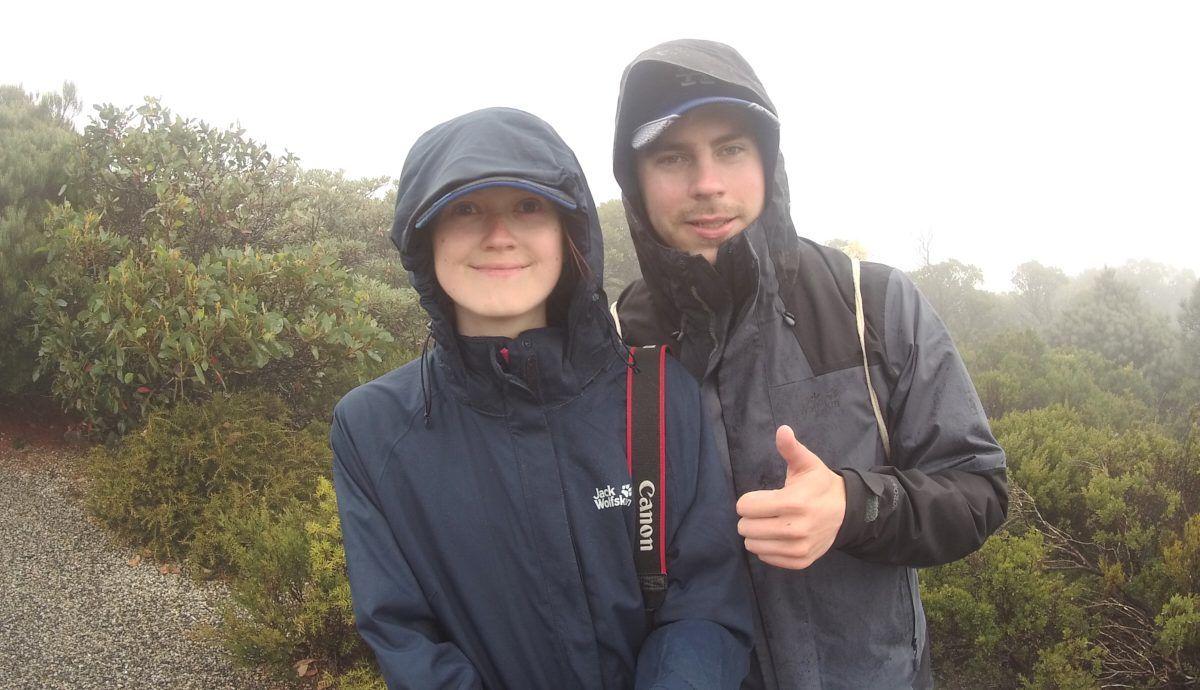 Grampians Nationalpark, National Park, Regen, Regenwanderung, nass, kalt, nebelig