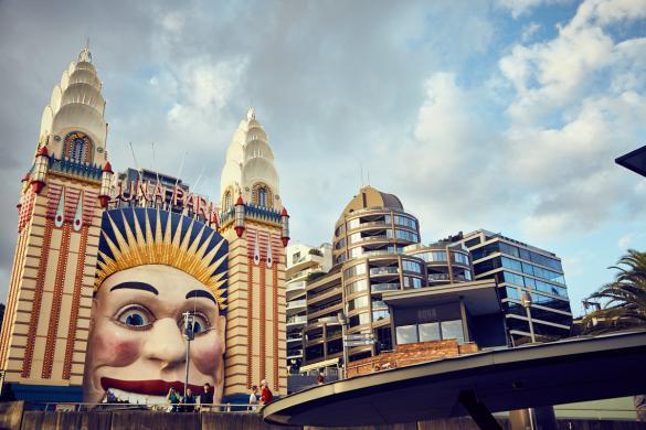Luna Park, Sydney, Stadt, Vergnügungspark
