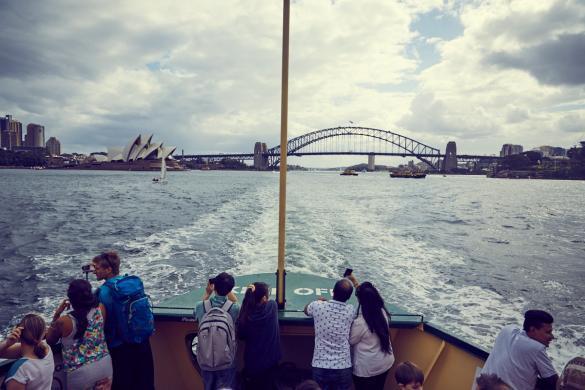 Manly, Ferry, Fähre, Hafen, Sydney, Städtetrip, Roadtrip, Australien