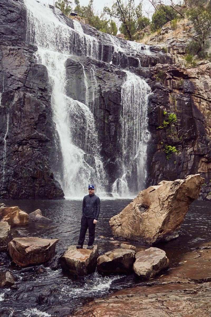 McKenzie, Falls, Wasserfall, Ronnie, Ausblick, Lookout, Grampians, Nationalpark, NP