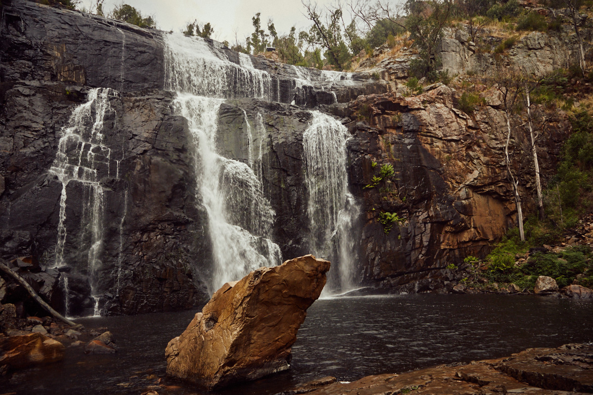 McKenzie Falls, Grampians, National Park, Nationalpark, Wasserfall, waterfall, Lookout, beautiful, einzigartig,