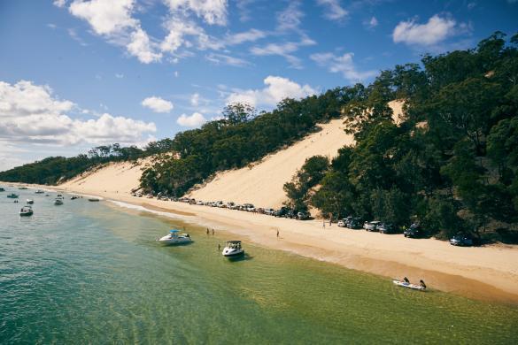 Moreton Island, Insel, Nahe Brisbane, Fähre, Ferry, MICAT, holiday, Urlaub, reisen, Reiseblog, Miles and Shores, Erfahrungen, Strand