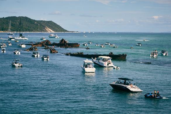 Moreton Island, Schiffswracks, Ostern, easter, Holiday, Urlaub, reisen, Reise, Tagesausflug, Wrack, schnorcheln, Ausflug, MICAT Fähre, Ferry, Insel, Brisbane