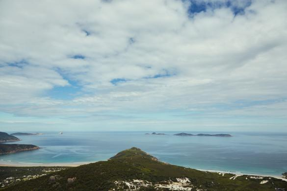 Mount Bishop, Ausblick, Berg, Spitze, Wanderung, Lilly Pilly Gully Walk, Wilsons Promontory Nationalpark