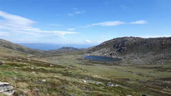 Mount Kosciuzko, Australien, Australia, Wanderung, wandern, Bergsee, schöner Tag, schoener Tag