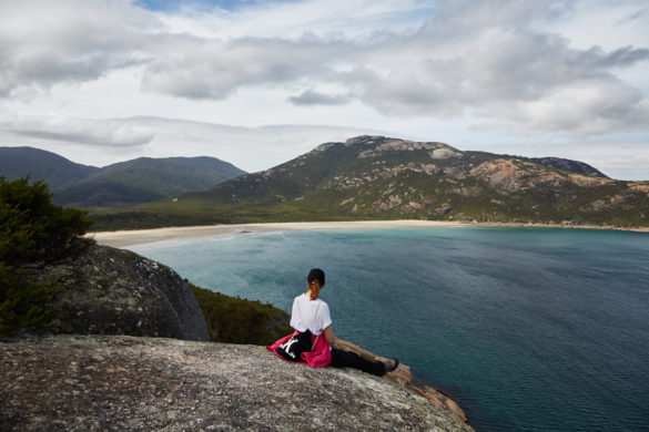 Pillar Point, Lookout, Wilsons Promontory Nationalpark, National Park, Australien, Roadtrip, Meer, Bucht, Ausblick, Landschaft, Landscape, Reiseblog, Reiseblogger, Blog