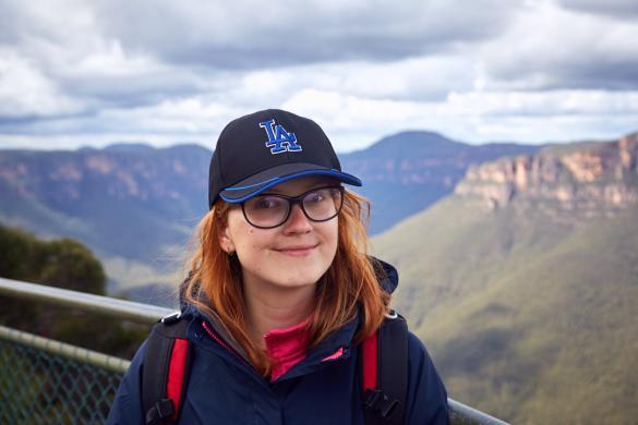 Chrisi, Pulpit Lookout, Walk, trail, hiking, Blue Mountains, Nationalpark, National Park