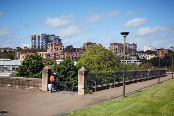 Sydney, Cityscape, Gebäude, Weg,