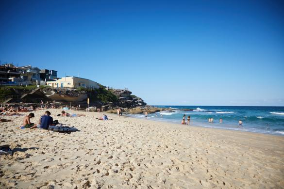 Tamarama Beach, Strand, Wasser, türkis, Spaziergang, Coast, coastal, sonnig, Sydney, Städtereise