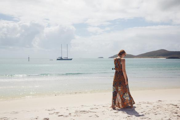 Whitsunday Islands, Strand, Chrisi, Miles and Shores, Reiseblog, Blogger, weißer Strand