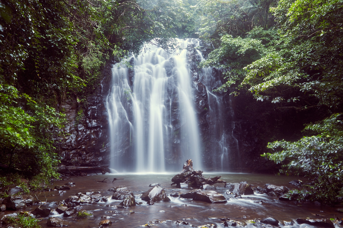 Elinjaa Waterfall, Wasserfall, Tabletops Tableland, Australien, Roadtrip, roadtripping, Ausflug, Tagesausflug