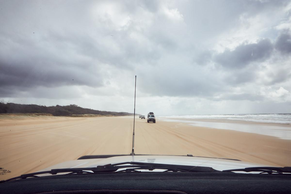 Fraser Island, Autobahn, Highway, beach, Strand, Straße, eingetragen, certified, UNIQUE, tour, daytour, Tagestour, Tagesausflug, Wie auf Fraser Island reisen, reiseblog, erfahrung, Erfahrungsbericht