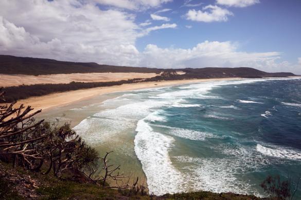 Indian Head, Aussicht, Rodatrip, Australien, Aussichtspunkt, wandern, view, spazieren, climb, klettern, Sonnenschein, schöner Tag, Fraser Island, Australien, Australia, travelblog, travelblogger