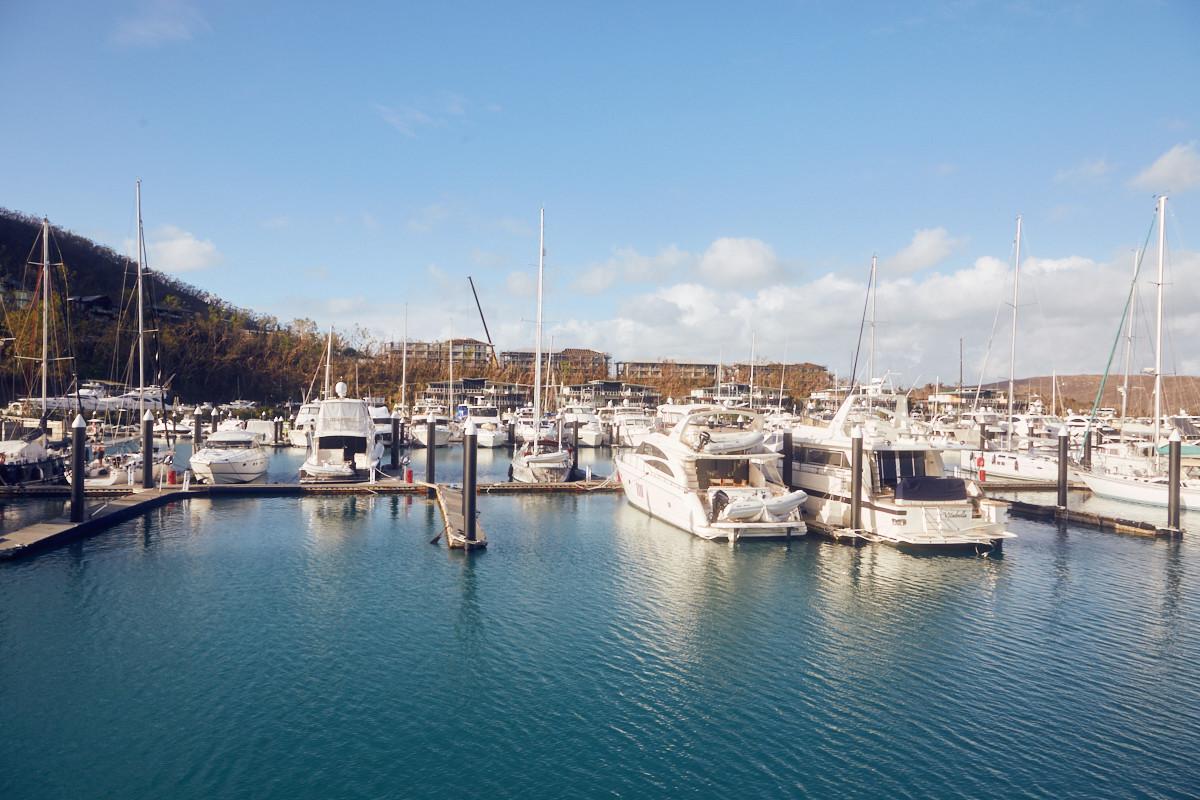 Hamilton Island, Port, Hafen, Whitsunday Islands, Australien, Reiseblog, Miles and Shores,